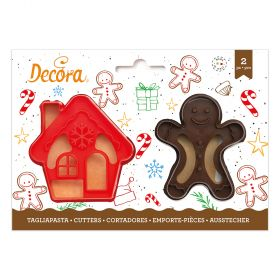 TAGLIAPASTA GINGERBREAD MAN & HOUSE